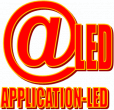 Logo de APPLICATION LED