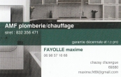 amf plomberie/chauffage