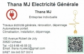 Thana mj electricite generale