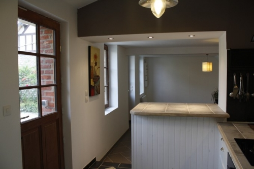 Dali renovation le petit quevilly for Ouverture cuisine salon bar