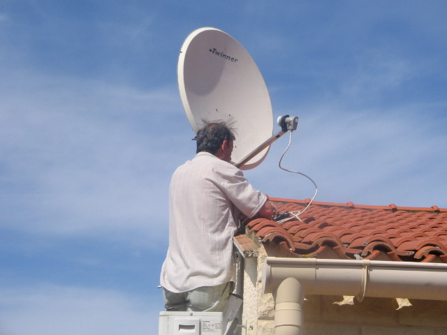 pose antennes