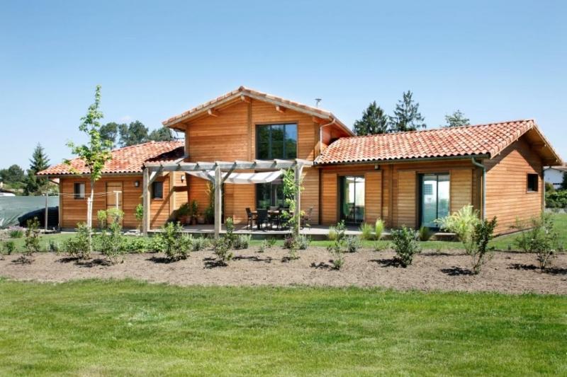 Maison bois vallery rion des landes for Constructeur maison bois landes