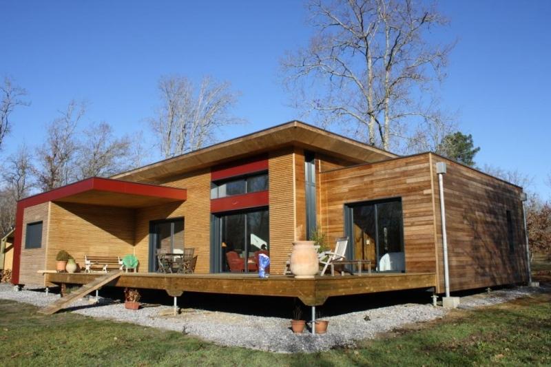 Maison bois vallery rion des landes for Meilleur constructeur maison
