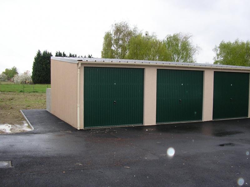 E2al garage et cloture ezy sur eure - Garage prefabrique beton ...